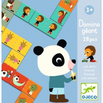 Educational games - Giant domino - Friends