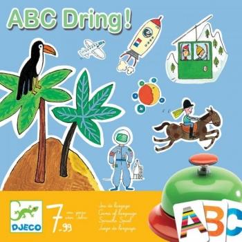 Карточная игра ABC Дзинь DJECO