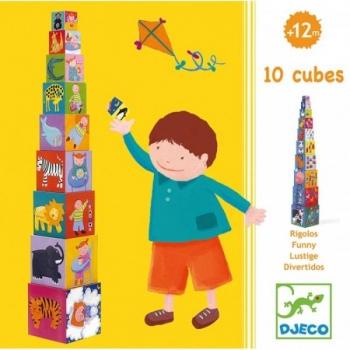 Cubes - 10 funny blocks