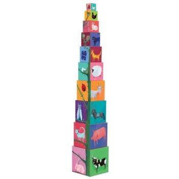 Cubes - 10 nature & animal blocks