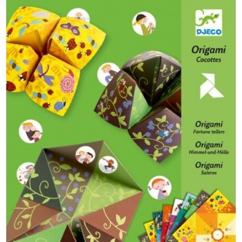 Оригами с фантами птичья игра DJECO