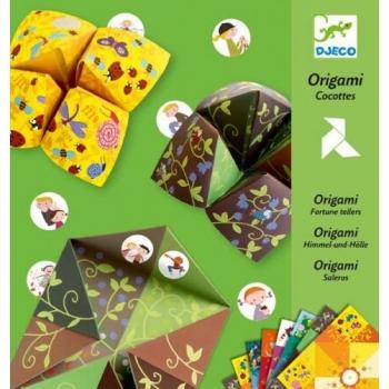 Origami bird game