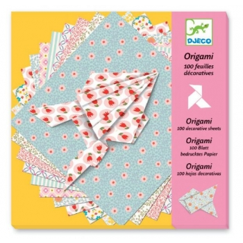 Origami- 100 Decorative Sheets