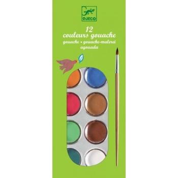 Colours - 12 color cakes - classic