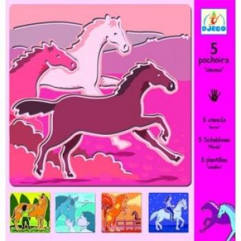 Stencils - Horses