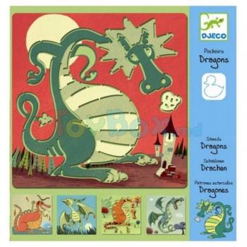 Stencils - Dragons