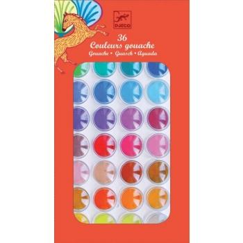 Colours - 36 color cakes