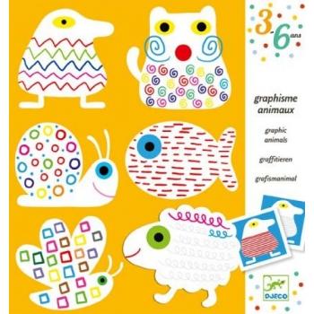 Preschool - Graphism Animals