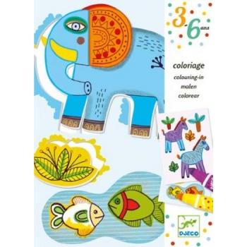 Coloring - Zoo zoo