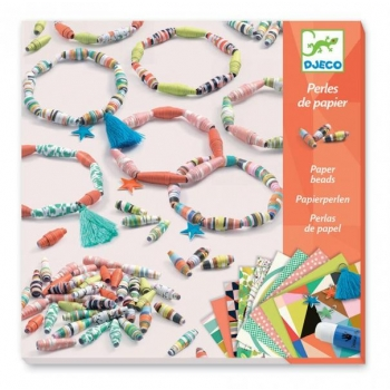 For older children - Paper creation - Spring bracelets