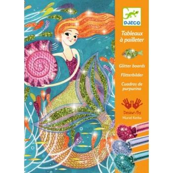 Glitter boards - Mermaids