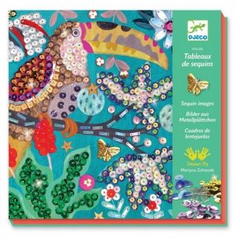 For older children - Sequin pictures - Flamboyant
