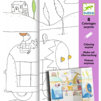 Colouring surprises - Hide-and-Seek
