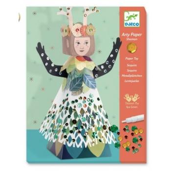 For older children - Arty paper - Shaman