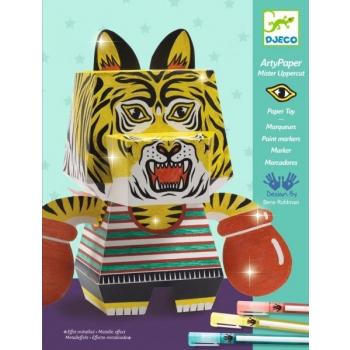 For older children - Arty paper - Mister Uppercut