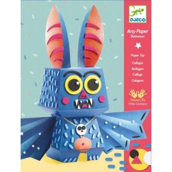 For older children - Arty paper - Batmouss
