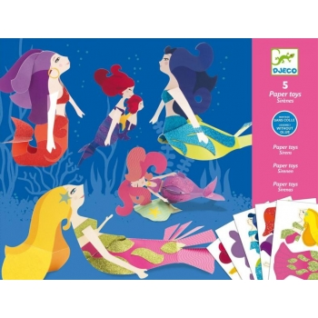 Paper toys - Mermaids