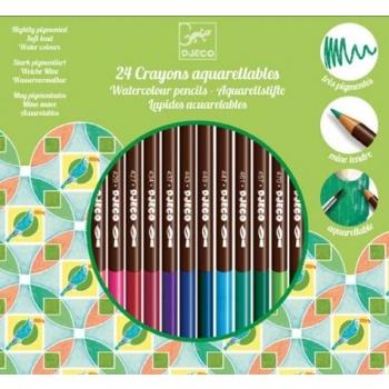 The colours - Pencils - 24 watercolour pencils