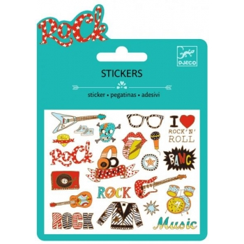 Small stickers - Pop and rock