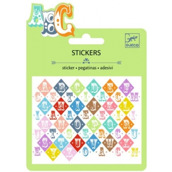 Small stickers - Saloon letters