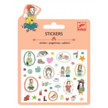 Mini craft pack stickers - Fashion