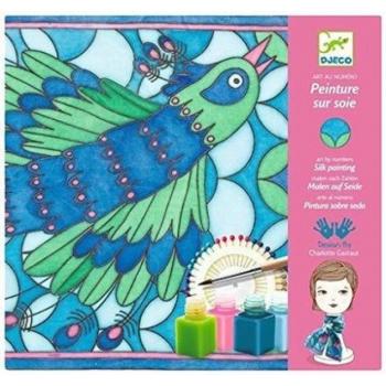 Silk printing - Peacock
