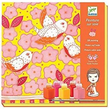 Silk printing - Sparrows