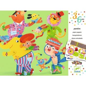 3-6 Paper puppet - Skates on
