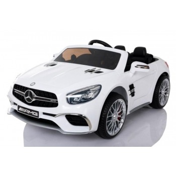 Children ride on car Mercedes SL65 AMG (White)