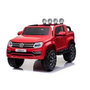 Children ride on car Volkswagen Amarok (Red