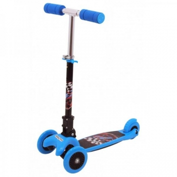 3 Wheels Scooter Blue