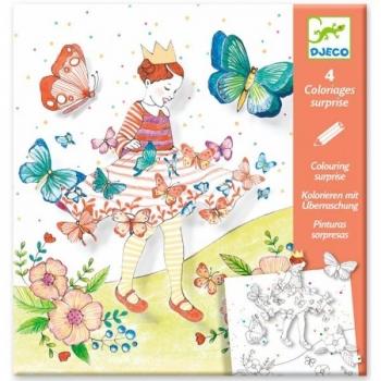 Набор для творчества Бабочки / Удивительные раскраски