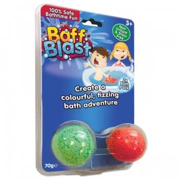 Zimpli Kids Kihisevad vannipommid, 2 värvi