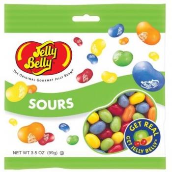 Jelly Belly «Ассорти Кислые фрукты» (100 гр.)