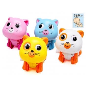 Üleskeeratav mänguasi Kass plastmassist