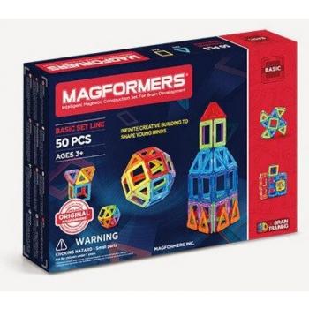 Magnetkonstruktor  MAGFORMERS Basic set line 50PCS