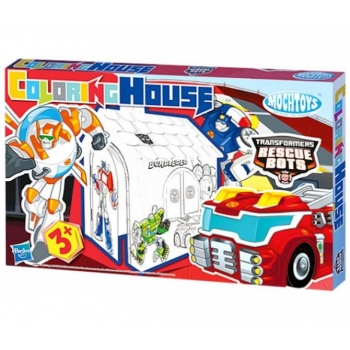 Coloring Playhouse Transformers