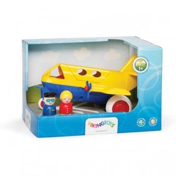 Jumbo Plane with 2 figures 28 cm. Viking Toys