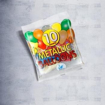 Metallic Balloons 10 assorted