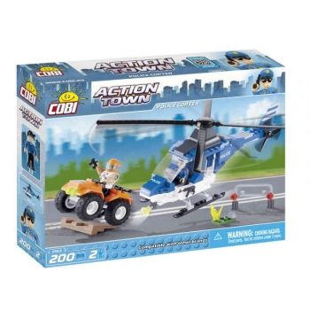 Action Town Police Copter
