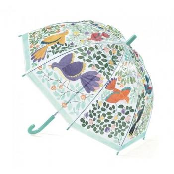 """Tüdrukute vihmavari """"Lilled ja linnud"""""""