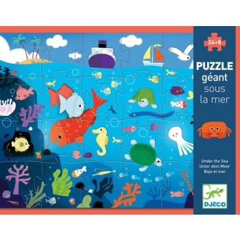 Gigantpusled /  Giant puzzles -Under the sea 24+8 osa