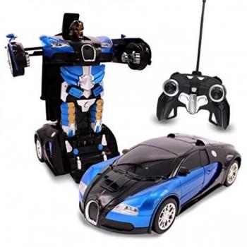 Auto-Robot RC / Robot Transformers Puldiga Tume/Punane