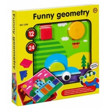 """Mosaiik värviliste nuppudega """"Funny Geometry"""""""