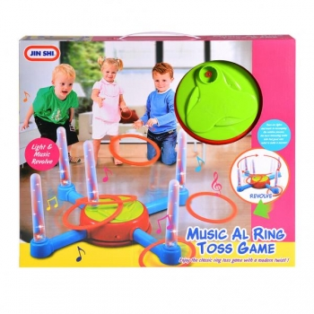 Toss Game with lights and music