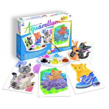 """Aquarellum Junior """"Cats"""""""