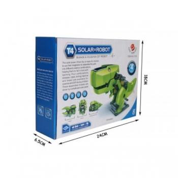 Solar Rechargeable Kit Dinosaur / Educational Kit Solar Robot 4 in 1