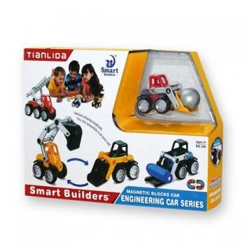Ehituskonstruktor magnetiga lastele / Magnetkonstruktor Ehitustehnika