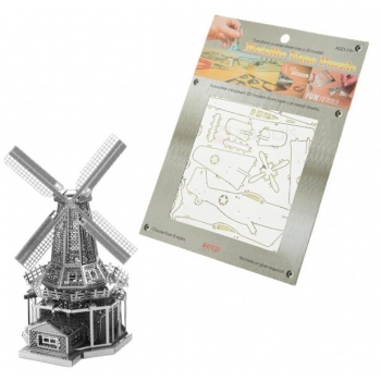 "3D Metallic Puzzle ""Windmill"""