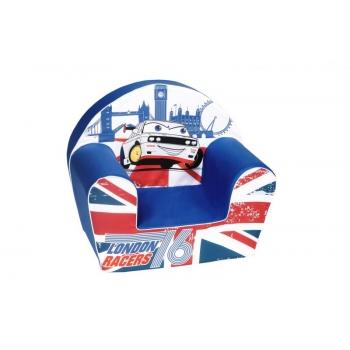Игрушечное детское мягкое кресло LONDON RACERS